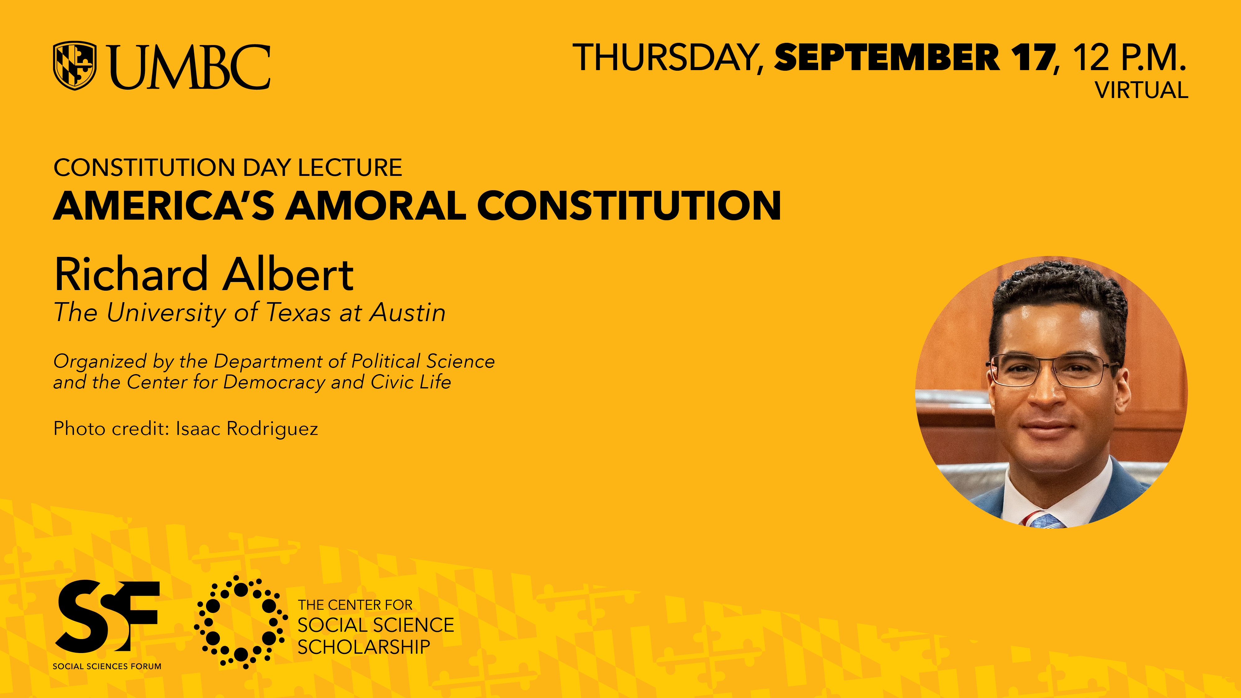 Social Sciences Forum: Constitution Day Lecture
