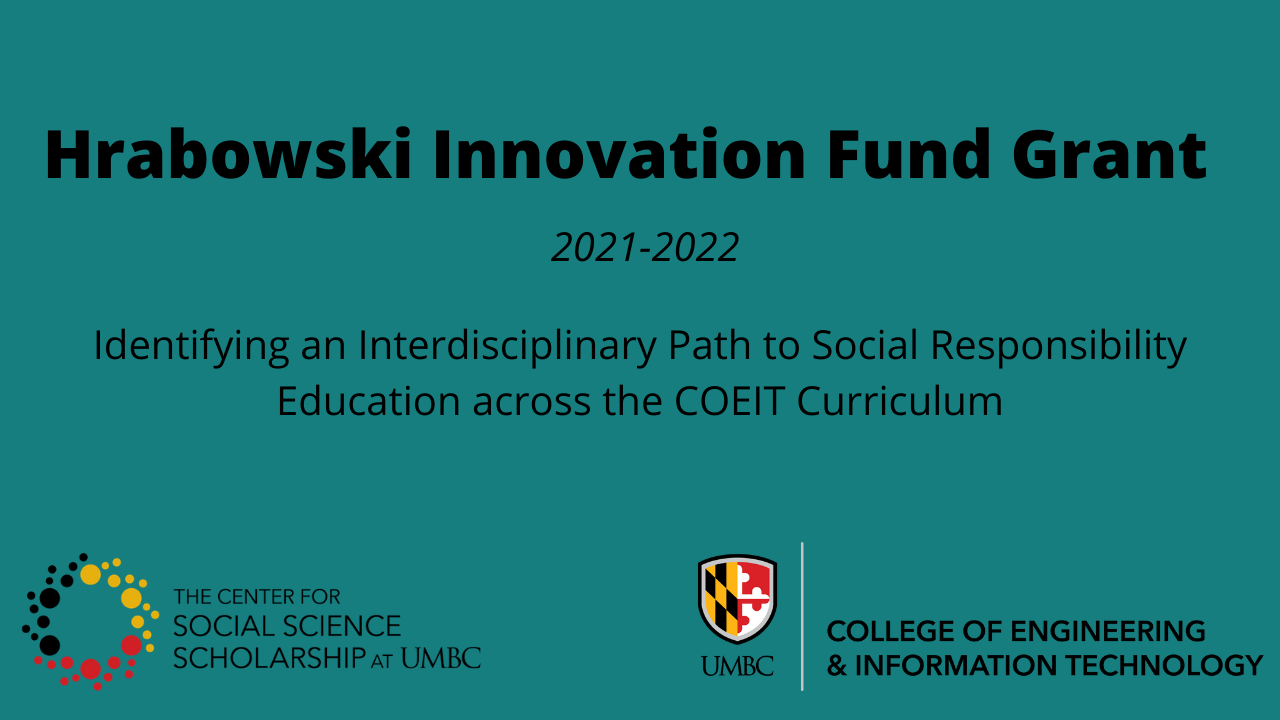 Hrabowski Innovation Fund Grant